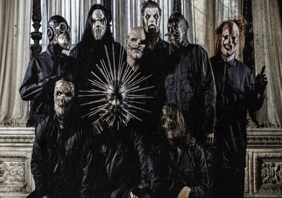 Съемки нового клипа рок-группы Slipknot